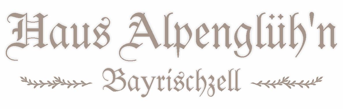Haus Alpenglüh'n – Bayrischzell